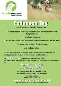 Plakat Hundezentrum Karl Kraus